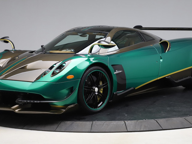 Would You Splash The Cash On This Green Pagani Huayra BC?