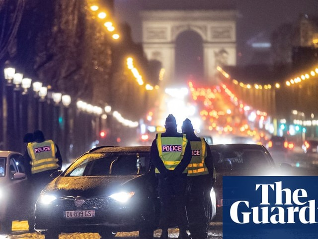Paris police accused of breaking curfew after Macarena at party
