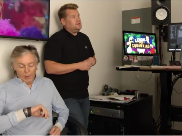 James Corden Learned the Hard Way Not to Waste Paul McCartney's Time