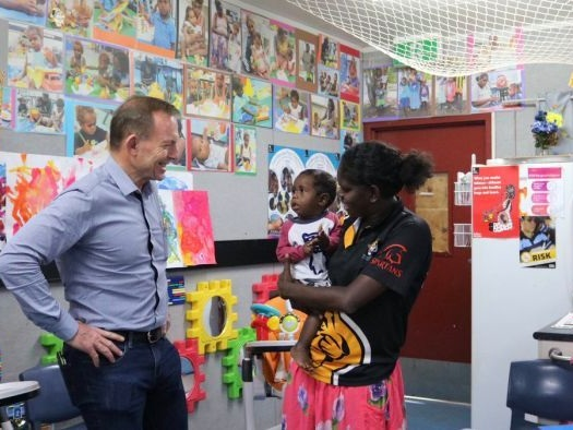 Abbott's envoy visit to NT 'a photo opportunity', NT minister says