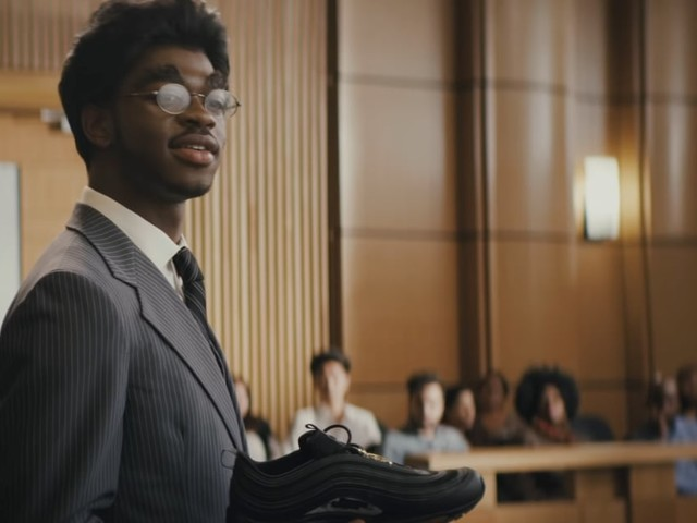 Lil Nas X Spoofs His Own Nike Lawsuit in the Legendary Teaser For His Upcoming Single