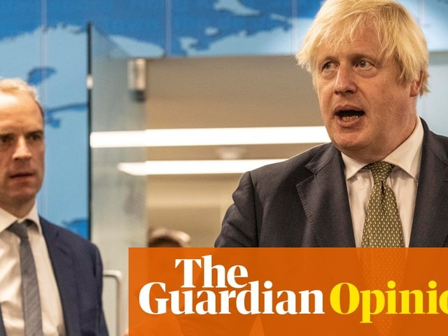 If he wasn't Johnson's fall guy, Raab would be up the creek without a paddleboard | Marina Hyde