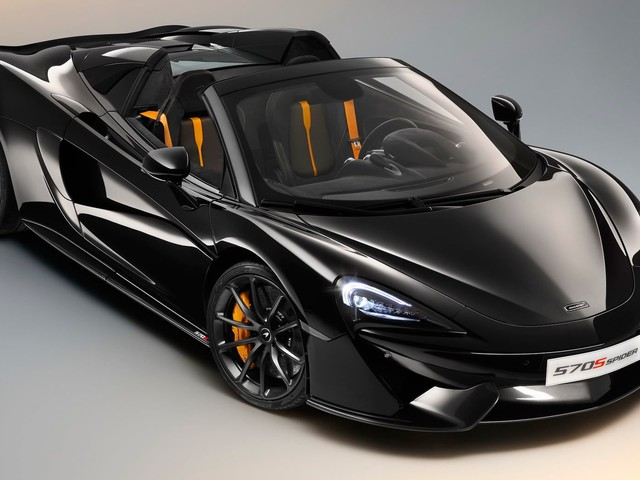 McLaren 570S Spider Gains New Design Editions Because Customers Need Help