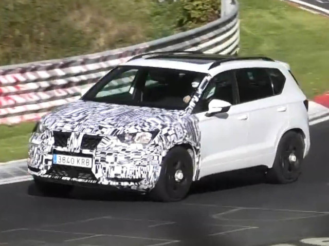 Cupra Ateca Is Apparently Getting A Nose Job For 2020
