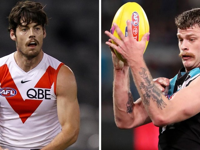 Blues 'certain' to sign $1.8m Swans mid; Port tells tall to find a new club: Trade Whispers