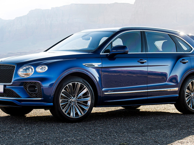 Bentley Facelifts The 2021 Bentayga Speed, The World's Fastest SUV