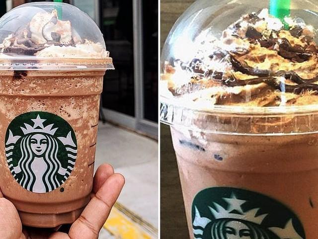 My New Dessert Obsession: Starbucks's Ferrero Rocher Frappuccino With Caramel Drizzle