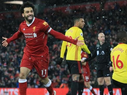 Liverpool v Watford reaction: Mohamed Salah compared to Lionel Messi after 'freak' four-goal performance
