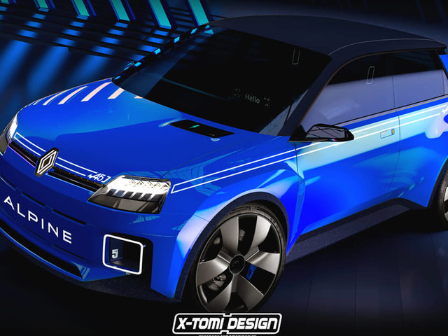 A New Renault 5 Alpine Would Be The Go-To Sporty Electric Supermini