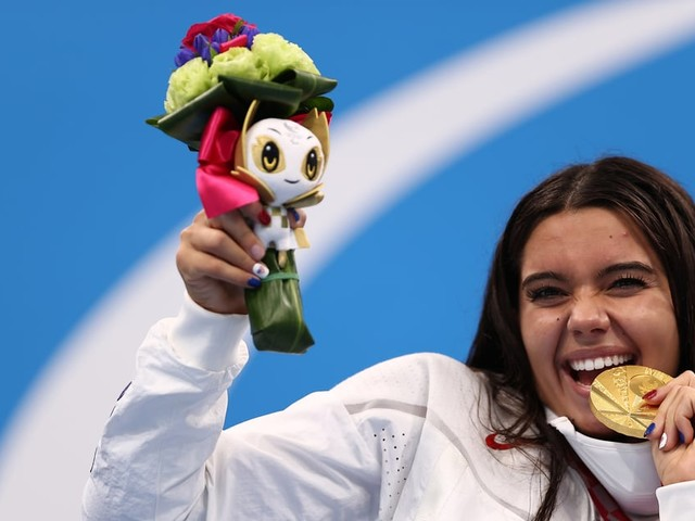 Anastasia Pagonis Wins Gold in 400m Freestyle at Tokyo Paralympics, Breaking World Record