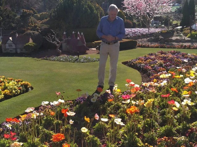 Cockington Green lauded by one of Australia's best horticulturalists