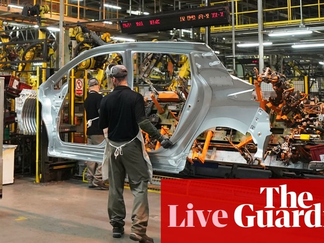 UK economic recovery loses momentum as consumer demand weakens – business live