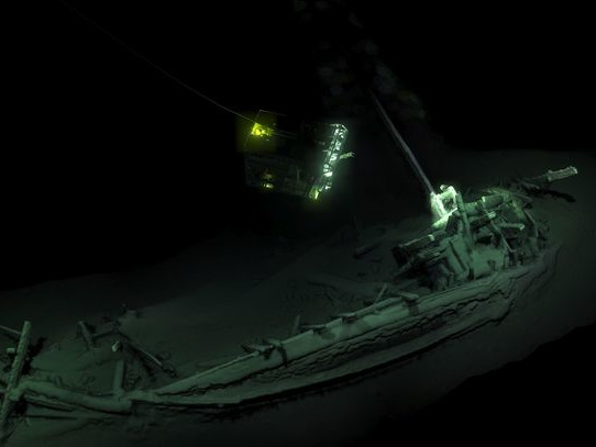 World's oldest intact shipwreck discovered in the Black Sea - CNET