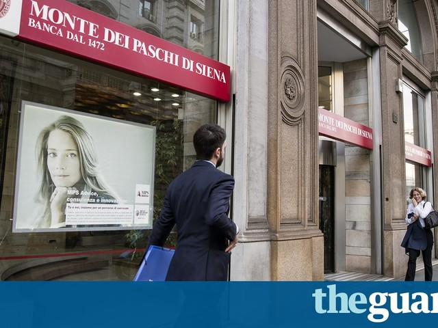Italy poised to bail out Monte dei Paschi di Siena as rescue deal fails