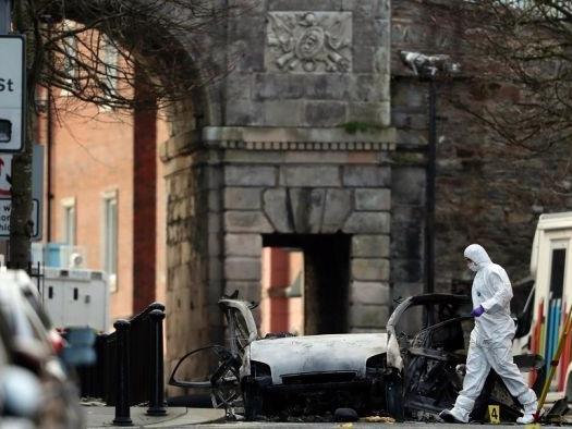 IRA dissidents suspected in Northern Ireland car bomb blast
