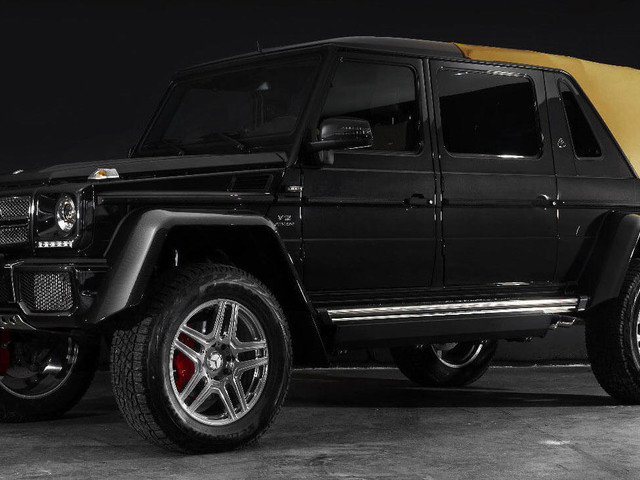 Holy Cash Cow! Mercedes-Maybach G650 Landaulet Will Cost You $1.8 Million