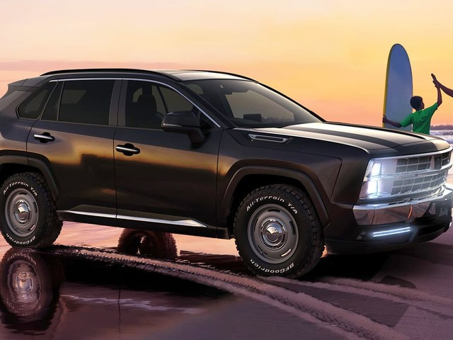 Mitsuoka Buddy Is A 2020s Toyota RAV4 Pretending To Be A 1990s American SUV