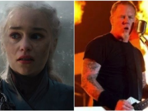 Daenerys Torching Kings Landing To The Tune Of Metallica's 'For Whom The Bell Tolls' Is Epic As Hell
