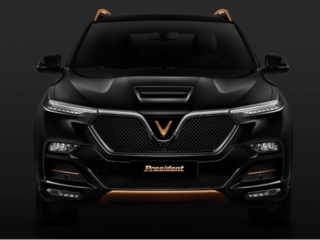 VinFast President revealed: Mean-mugging V8-powered SUV looks ready to attack the Jeep Grand Cherokee SRT and Mercedes-AMG GLC 63 S