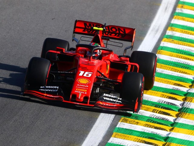 Leclerc blames himself, apologises to Ferrari over Brazilian F1 GP qualifying 'disappointment'