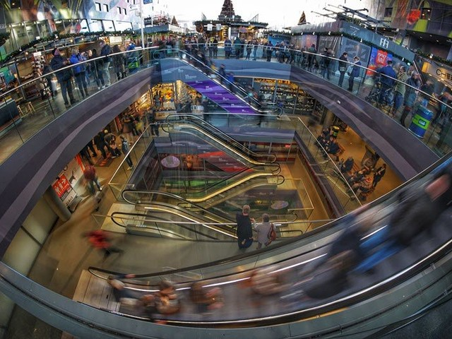 How shopping centres came to reflect the generation gap