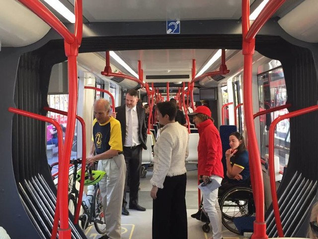 We're off! Canberra light rail takes its first passengers