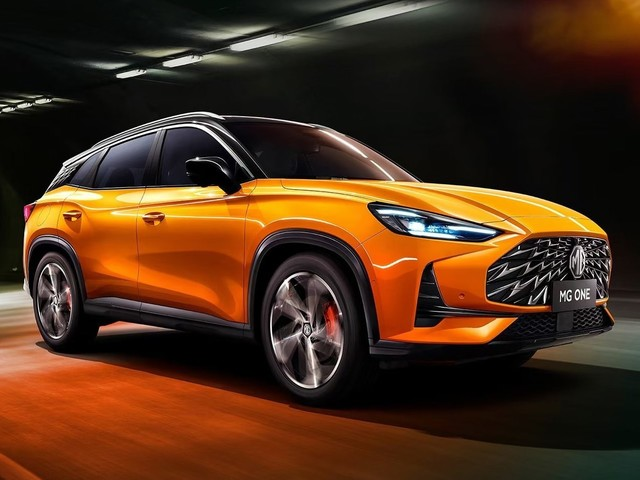 2022 MG One revealed: Mazda CX-5, Hyundai Tucson and Kia Sportage rival debuts new platform for Chinese challenger brand