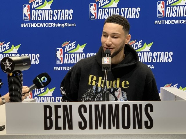 Ultimate troll, the 'bad question': Best of Ben Simmons' All-Star Media Availability