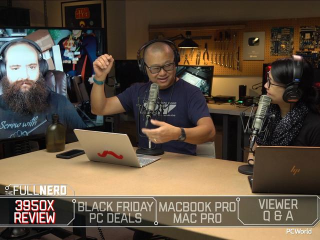 The Full Nerd ep. 114: AMD Ryzen 9 3950X review, Black Friday PC deals, MacBook Pro 16