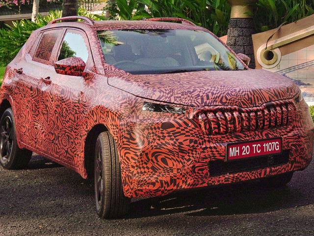 2021 Skoda Kushaq Subcompact Crossover For India Previewed Ahead Of March Debut