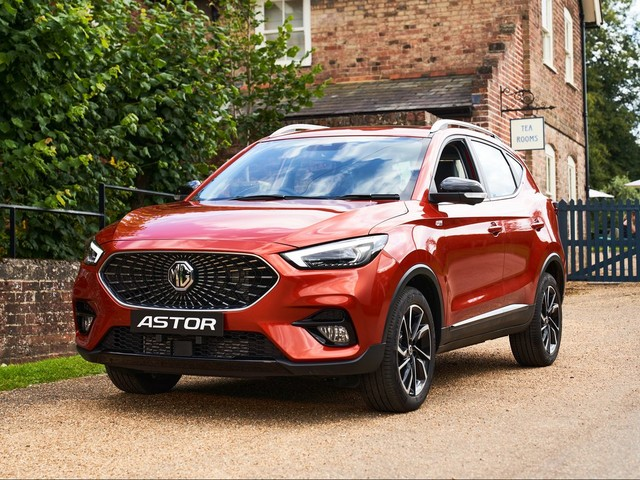 MG Astor Unveiled, Has Plentiful Features And Then Some