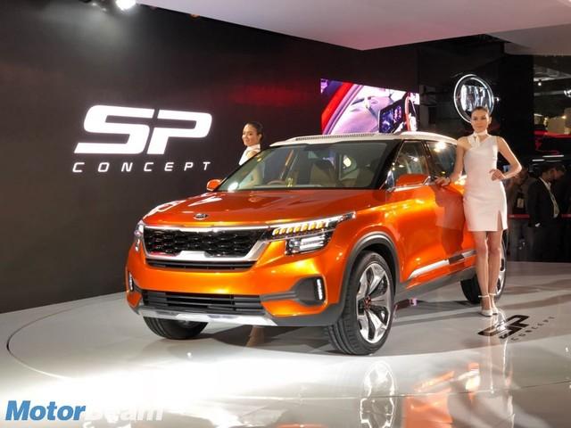 Sporty Kia SP SUV Coming With A Turbo-Petrol