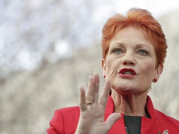 Pauline Hanson: 'I have no intention of supporting corporate tax cuts'