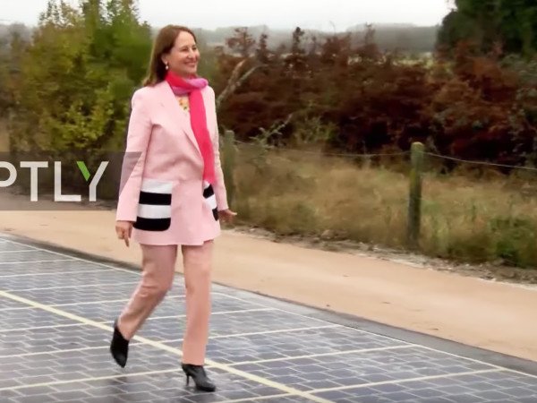 World's First Kilometer Of Solar Road Cost A Mere $5.2 Million