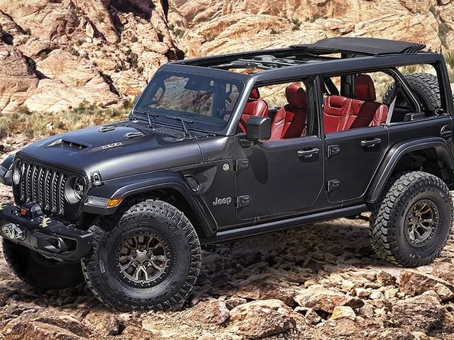 Jeep Wrangler V8 high on Australian wishlist