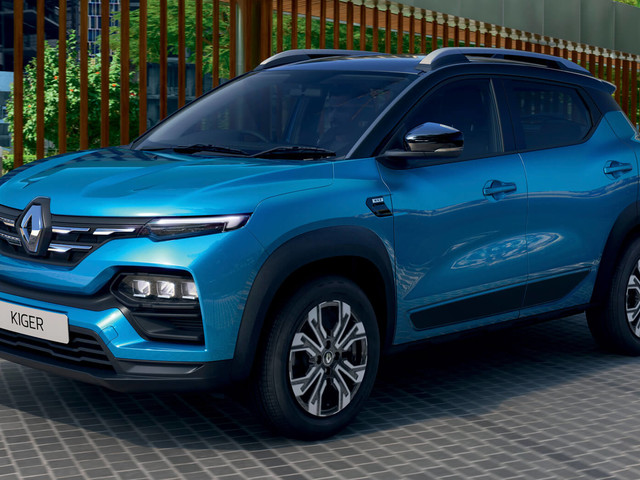 Renault's New Kiger Small Crossover Is Quite A Looker