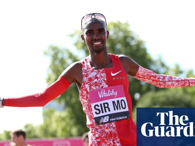 Mo Farah calls time on track return and targets 2020 Olympic marathon