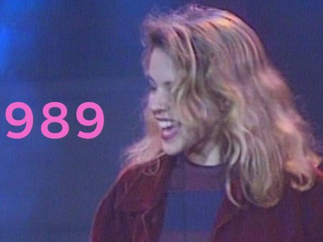Rewind Kylie Minogue 1989