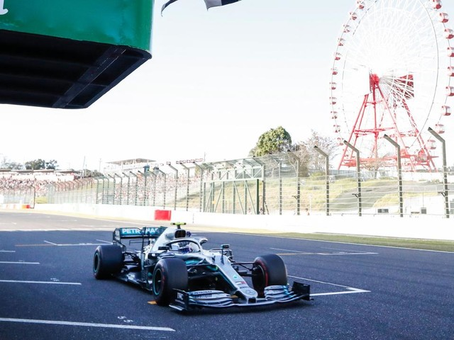 FIA investigating chequered flag light display gaffe in Japanese F1 Grand Prix