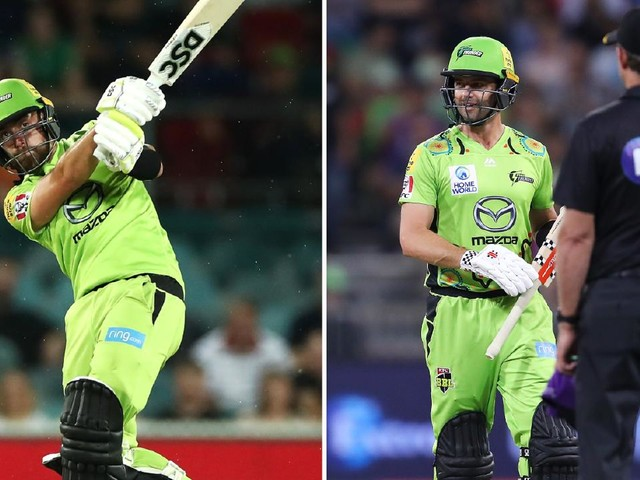 Skipper's 'nasty' wicket, Thunder star's late rampage: BBL best moments