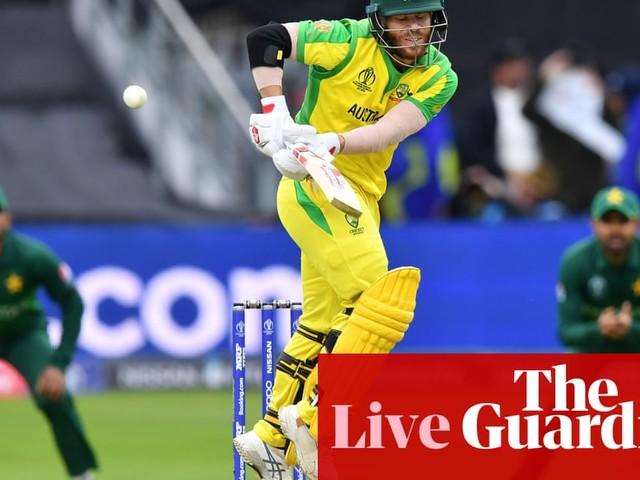 Australia v Pakistan: Cricket World Cup 2019 – live!