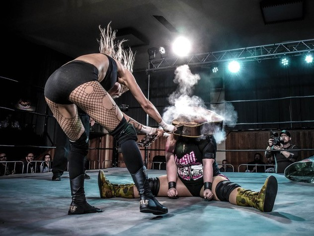 Underworld Wrestling returns for a walloping weekend event