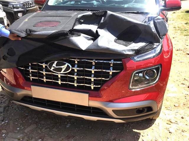 Hyundai Venue Images Leaked Ahead Of Unveil