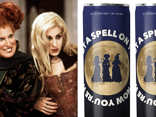 Hocus Pocus Canned Wine Is Now a Thing, and You Can Buy It Online For Doorstep Delivery