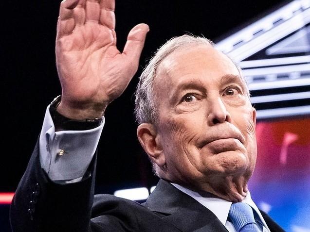 'Arrogant billionaire': Michael Bloomberg savaged in his first Democratic debate