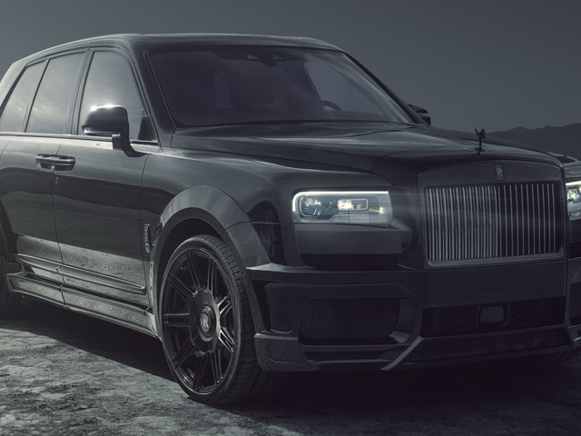 Rolls-Royce Cullinan Black Badge Gets A Sinister Widebody Makeover, Extra Oomph From Spofec