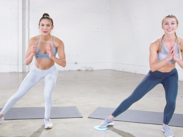 Try This Total-Body Sliders Workout on Any Hard Surface at Home