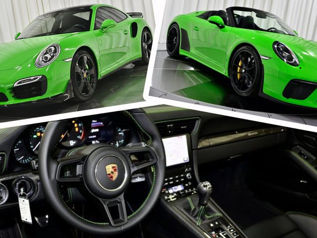 Want A Lizard Green Porsche 911 Speedster Or A Viper Green 911 Turbo S?