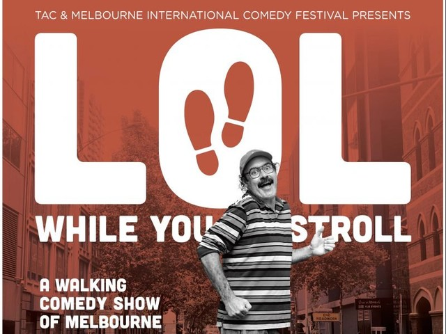 TAC and Melbourne International Comedy Festival launch pedestrian safety campaign with walking comedy show