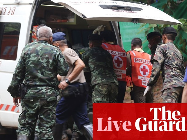 Thai cave rescue to resume with eight boys and coach still trapped – latest news